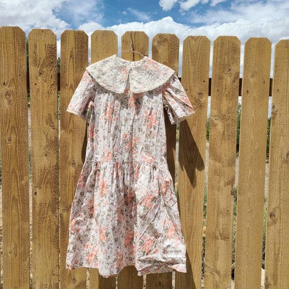 80's Cottagecore Tea Time Dress - image 1