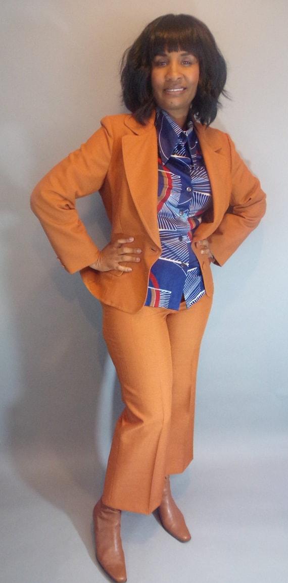 Vintage Lilli Ann deadstock pantsuit - image 10