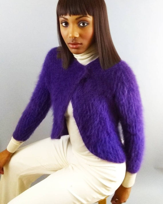 Vintage fuzzy sweater