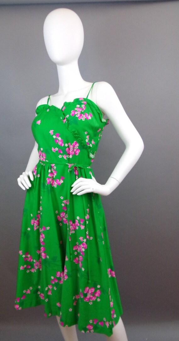 Sale Vintage 60s Malia floral dress - image 2