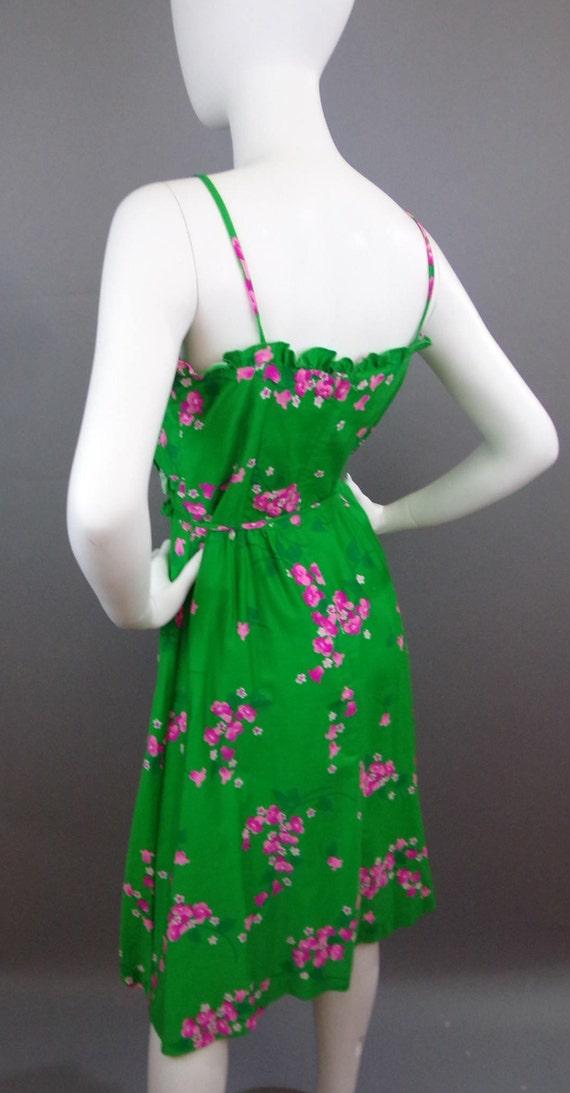Sale Vintage 60s Malia floral dress - image 5