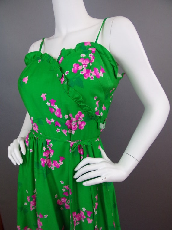 Sale Vintage 60s Malia floral dress - image 1
