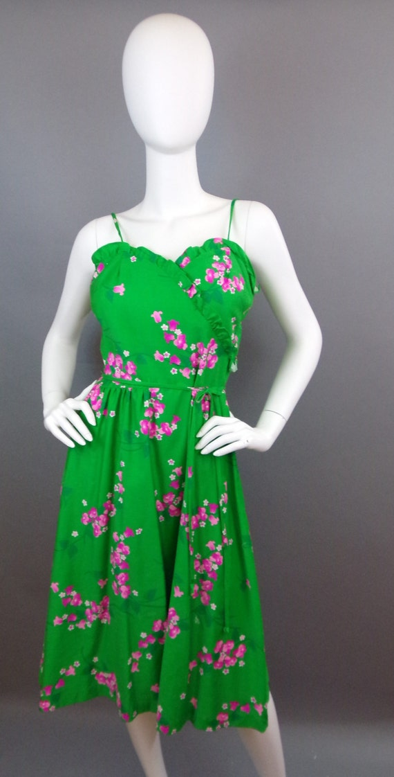 Sale Vintage 60s Malia floral dress - image 4