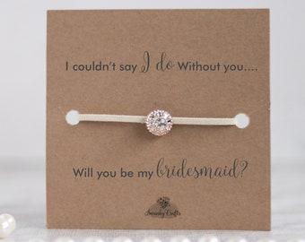 Will you be my bridesmaid gifts, bridesmaid proposal gift, Bridesmaid jewelry, bridesmaid bracelet gift, bridesmaid  bracelets