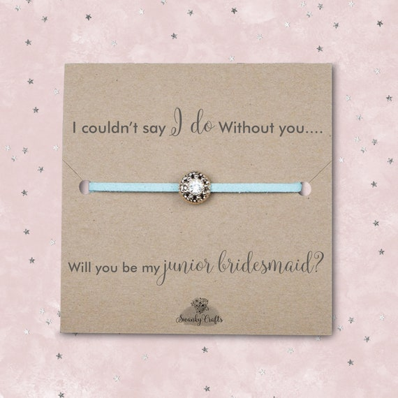 Will You Be My Junior Bridesmaid Gift Flower Girl Proposal