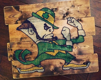 Notre Dame Fighting Irish String Art