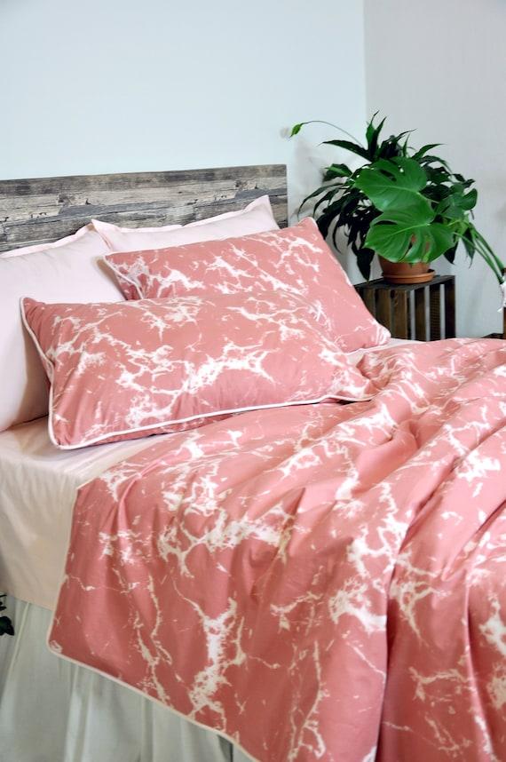 Marble Bedding Tie Dye Duvet Cover Set, Marble Queen Bedding