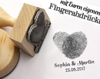 Finger/FußabdruckStempel