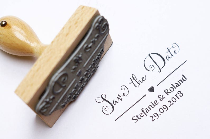 Personalized text stamp / / compose / / ring / / wedding / / image 0