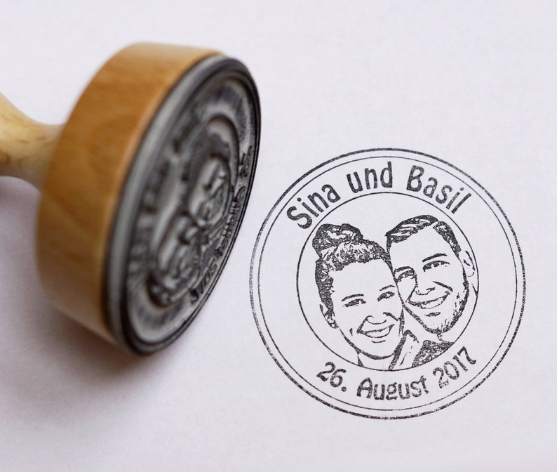 Photo Stamp//Wedding Stamp//Stamp Personalized with Your image 0