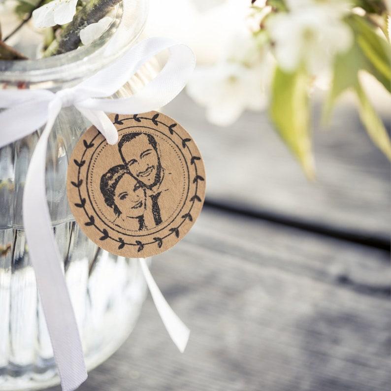 Foto Hochzeitsstempel