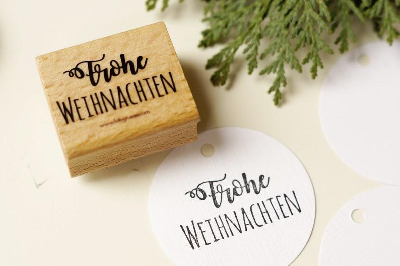 Stamp Merry Christmas image 0