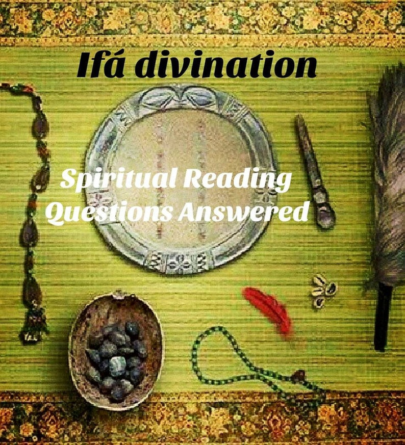 1 divination reading by babalawo or iyanifa Ifá Santería Lukumi, Yoruba,  Palo, Voodoo, Hoodoo reading & write up
