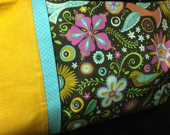 Bright & Bold Travel Pillowcase