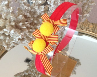 Catalan headband for girls