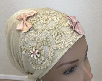 Gold mitpahot, Jewish head covering