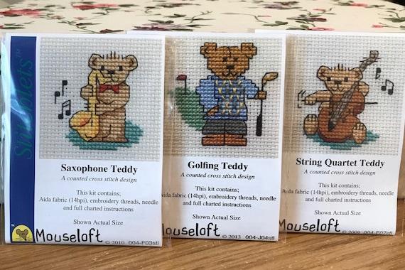 Mouseloft Mini Cross Stitch Kit Stitchlets Collection Decorated Llama