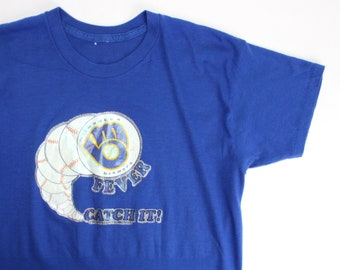 Vintage Milwaukee Brewers Fever MLB Shirt / Small / Made in USA