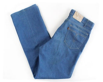Vintage Levi's Action Jeans / 34x34 / Made in USA