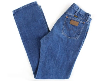 Vintage Men's Wrangler Blue Jeans / 32x34 / Made in USA