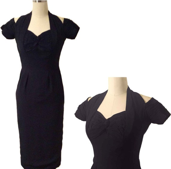 Provacatrice Dress // 1960s Ceil Chapman wiggle dr