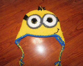 Crochet Minion hat - Size child