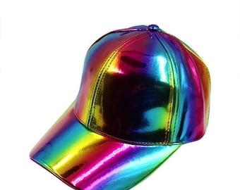 madewithpride lgbtq rainbow hat rainbows and unicorns rock the rainbow Rainbow unicorn cosplay gay pride hat Pride month hat