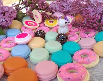 WHOLESALE lip balm, lip balm favors, lip balm in bulk, wedding favors, unicorn lip balm, cupcake, donut, natural lip balm, unicorn favors