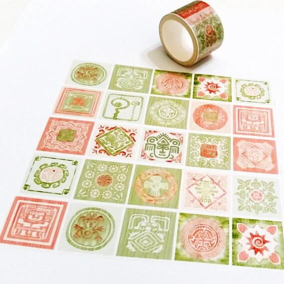 1 Jielin Washi Tape Taiwanese Foods
