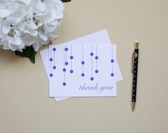 Thank you notes-Dotted Pattern