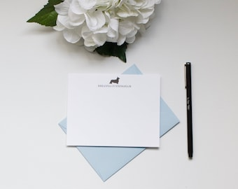 Personalized Stationery, Custom Stationery, Corgi Stationery, Dog Stationery