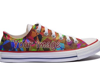 d83105c28f05 Low Top Custom Converse   Custom shoes   personalized with the image you  want