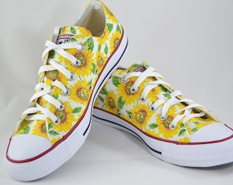 Sunflower custom Converse   custom shoes fc7a6967ce254