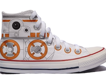 22e026443070a Guns N' Roses converse custom sneakers fan art print shoes | Etsy