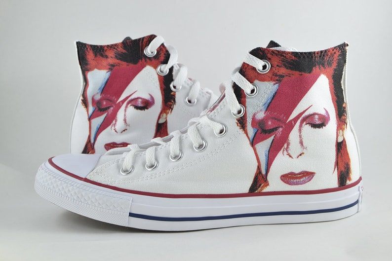 c038691c56fd9e David Bowie custom converse   custom shoes   sneakers