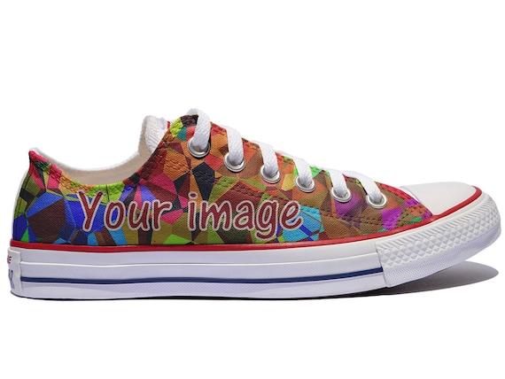 Low Top Custom Converse / Custom shoes