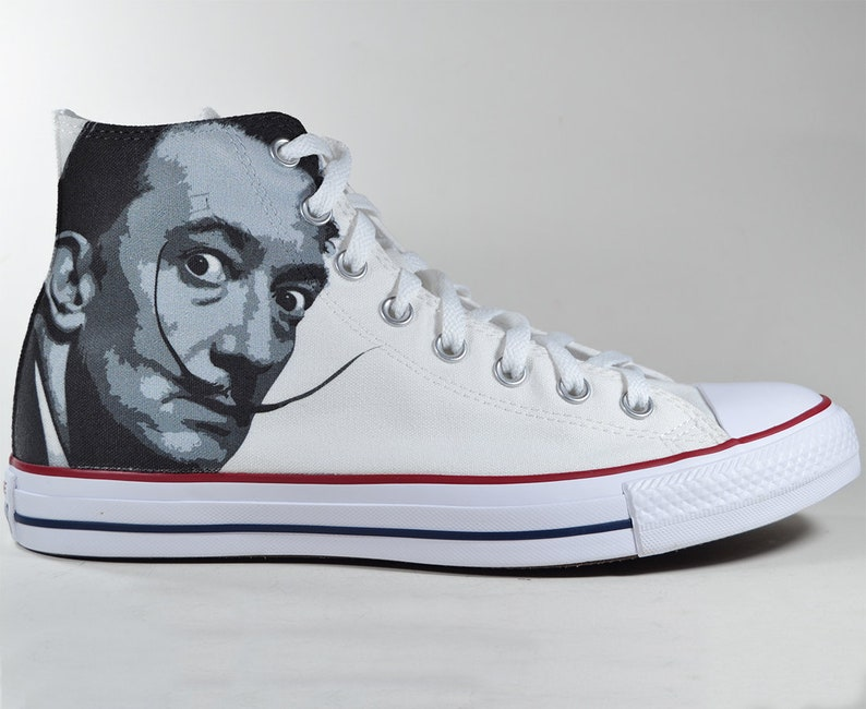 403eb43bb05b Salvador Dali inspired custom converse   art painting