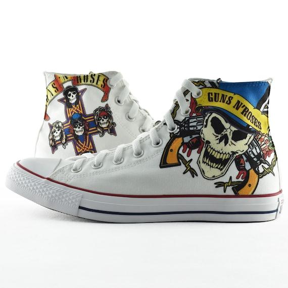 Guns N' Roses Fan Art converse custom