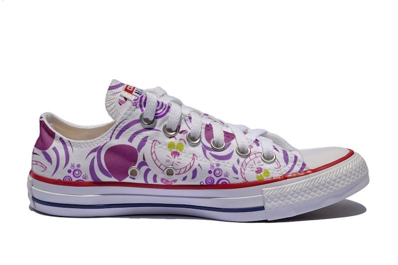 1c56c108364403 Cheshire cat custom shoes Alice in wonderland personalized