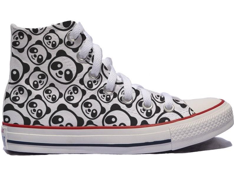 d10702b7d249 Panda custom shoes   custom converse   personalized gift panda