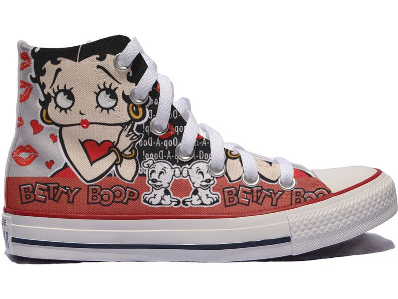 1e845ac4f95b Betty Boop Custom Shoes   custom converse personalized gift