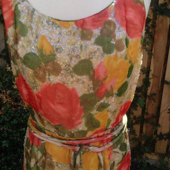 Vintage Dress 1950's Summer