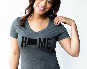 T-Shirt - North Dakota HOME Women's Tee