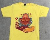 Vintage USA Anvil drag racing western nationals shirt