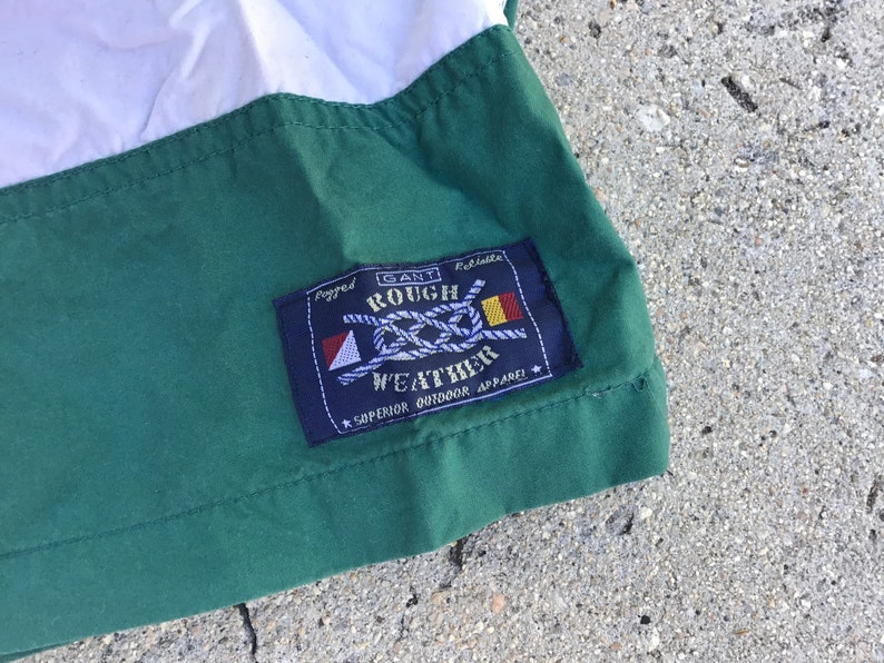 Vintage 90/'s USA Gant swim shorts