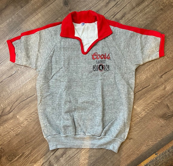 Vintage Coors beer USA sweater polo
