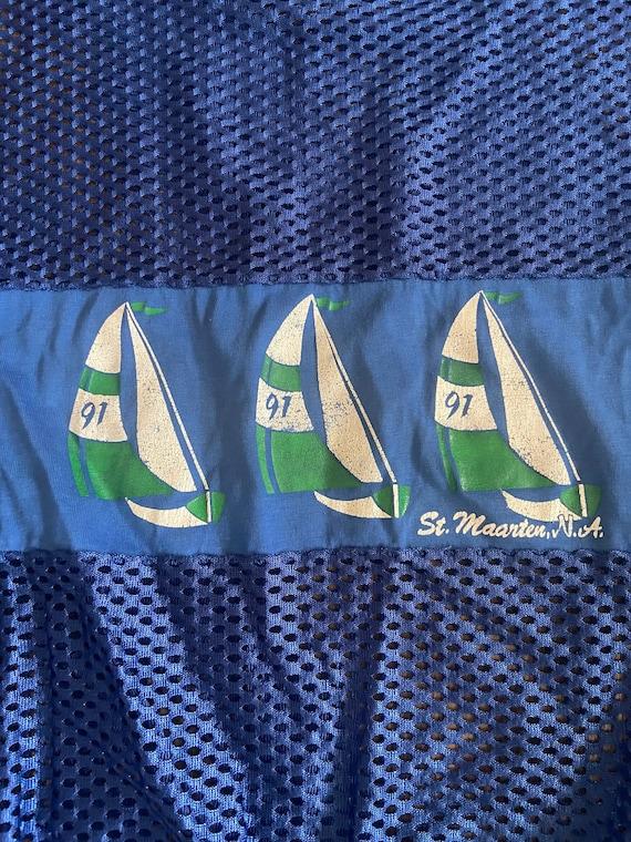 Vintage Bahamas mesh shirt - image 2