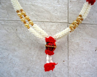 Mini Statue Garlands Indian Murti Mala Pooja Mala Mini Gods and Goddesses Mala