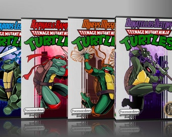 TMNT - 4 Pack Combo w/ cases