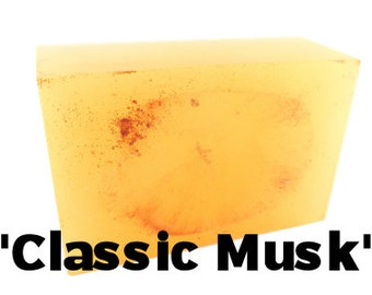 Classic Musk - Handmade Soap Bar //vegan, made in Canada//